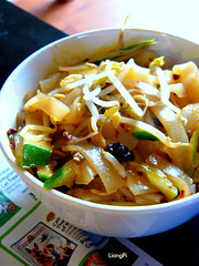 Homemade...Shaanxi.LiangPi (11) Tags: chinesefood cucumber homemade spicy  beansprout     liangpi