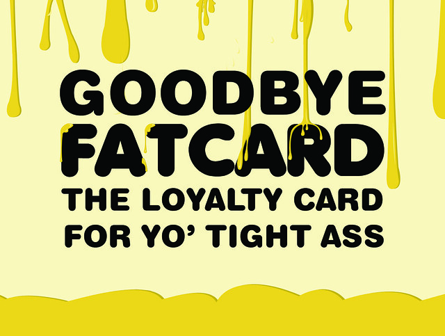 Fat Card Flyer GOODBYE