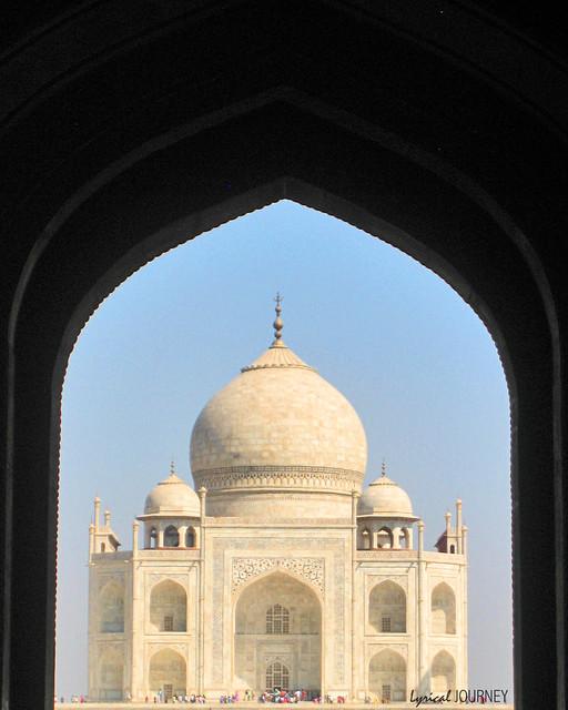 Taj Mahal Framed 3