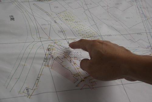 開發單位以圖示說明開發區位。