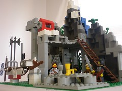 Lord of the Rings Custom Lego Window on the West 3
