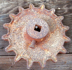rusty circles as inspiration