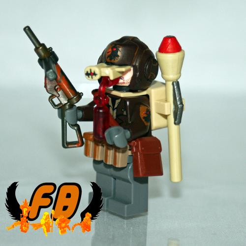 Wierd War Paratrooper - Black Falcon legion