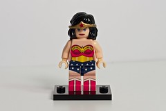 Wonder Woman (levork) Tags: woman wonder dc lego superhero minifig cfc2010 creationsforcharity2010