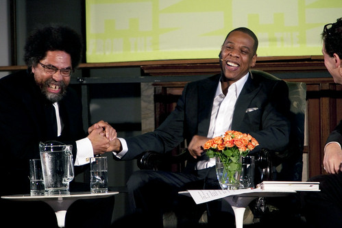 Jay-Z in conversation with Cornel West and Paul Holdengräber
