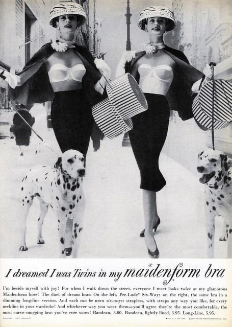 1956 - I Dreamed I Was Twins In My Maidenform Bra