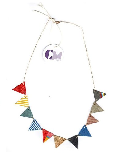 Multicolored  Fl▲g  Neckl▲ce