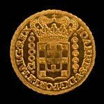 1726 Brazilian gold coin
