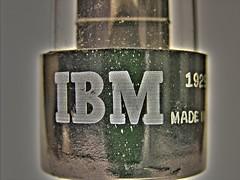 IBM vintage vacuum tube [HDR]
