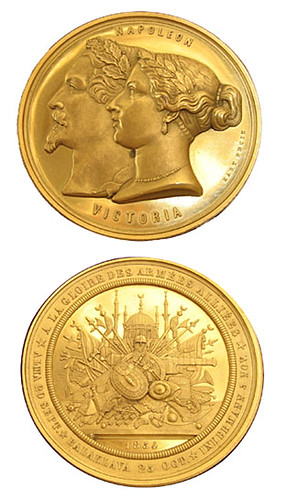 Crimean War commemorative medal
