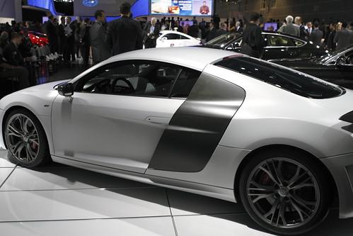 Audi R8 GT Side View