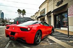 Ferrari 458 Italia (texan photography) Tags: d50 italia texas houston fast rollsroyce ferrari enzo bugatti lamborghini astonmartin f430 veyron lowangle 458 lp640 worldcars lightroom3 599gto lp560 lp670sv ferrari458italia babyenzo twotone458
