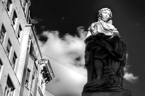 Statue. Budapest. Estatua