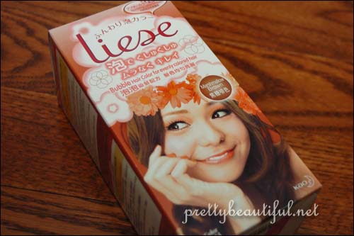 Liese Bubble Hair Color in Marshmallow Brown