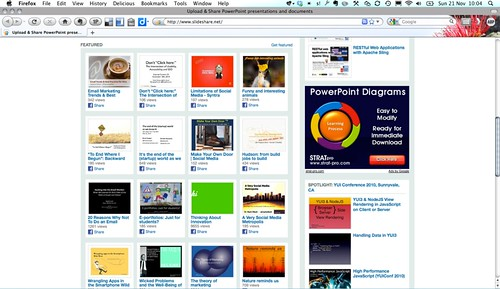 Featured on Slideshare