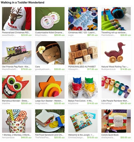 5196312940 6eaa4c4993 Handmade Gift Guide For the Holdiays 2010  Walking in a Toddler Wonderland