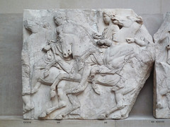 North Frieze, Slab 36 (Horsemen)