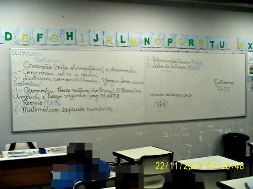 Rotina Prevista - e cumprida (22/11/2010)