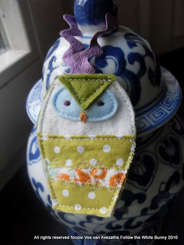 Scrappy Funky Owl for the Tree