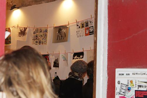papergirl hamburg vernissage @ kupferdiebe gallery