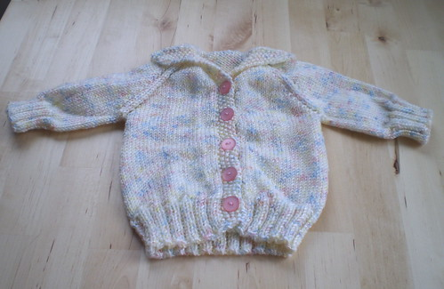 Cardigan for Cheryl's baby