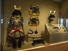 Samurai Armaments (MJM1977) Tags: art japan museum dam denver armor weapon sword samurai katana weapons tanto