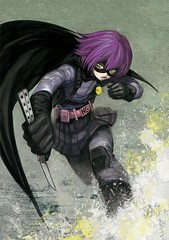 101125 - 漫畫家「小玉有起」受邀為電影《KICK-ASS》親筆作畫的『超殺女』動感造型,正式公開!