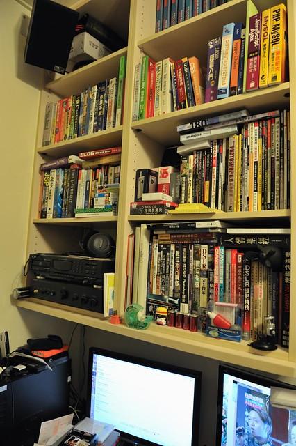 我的書房一角