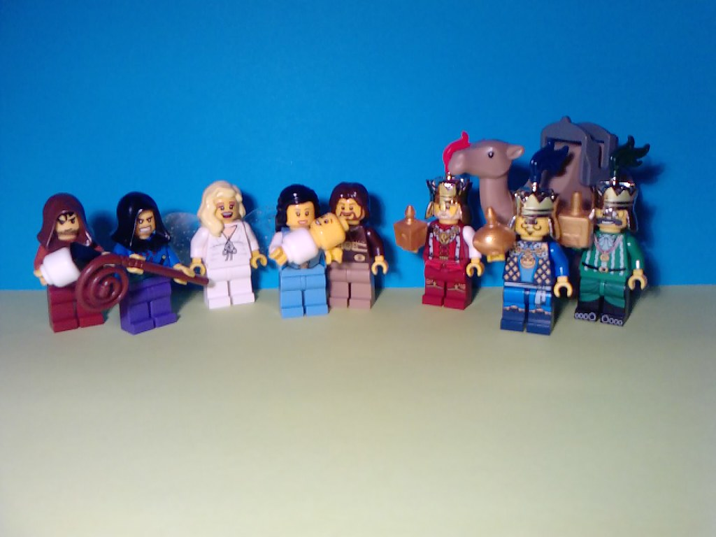 Living nativity scene - a late entry for LEGO BCN