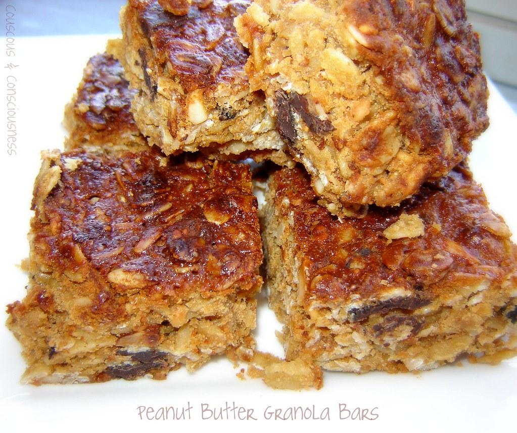Peanut Butter Granola Bars 2