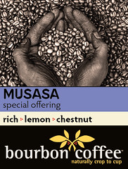 Bourbon Coffee Bag Labels Musasa Front 13