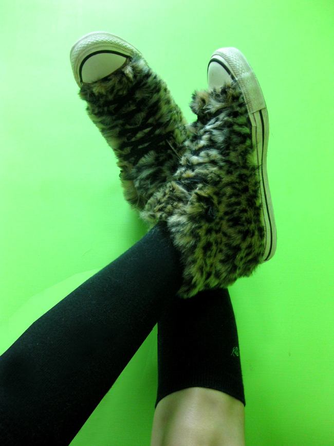 DIY: Leopard Converse