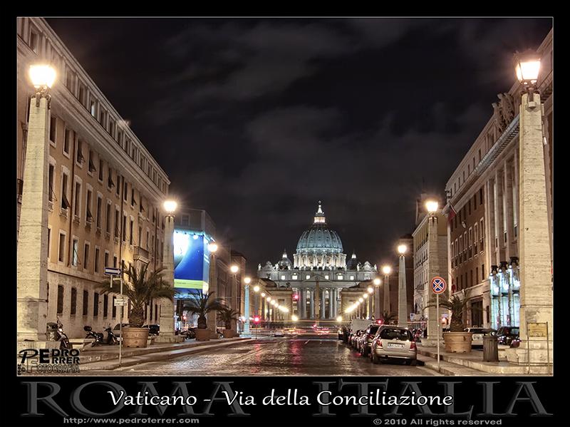 Roma - Vaticano - Via della Conciliazione