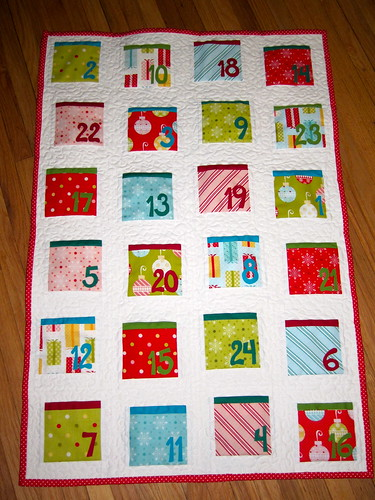 Quilted Advent Calendar #2