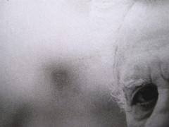 Pietro Citati, Leopardi, Mondadori 2010; art dir.:Giacomo Callo, graph. designer:Cristina Brazzoni; alla q. di cop.: ritratto fotogr. dell'autore, ©Manuela Fabbri; q. di cop. (part.), 2