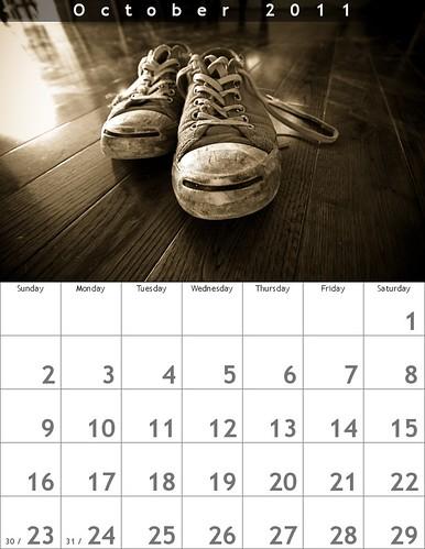 october 2011 calendar. October 2011
