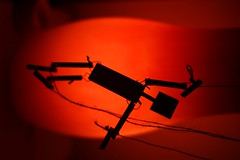 Sideways Puppet (pepemczolz) Tags: wood red silhouette puppet sony string alpha sideways a350