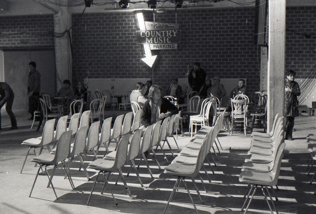 Bayerisches Fernsehen  Alabamahalle Schleissheimerstrasse März 1981 Produktion - Country Music - Proben