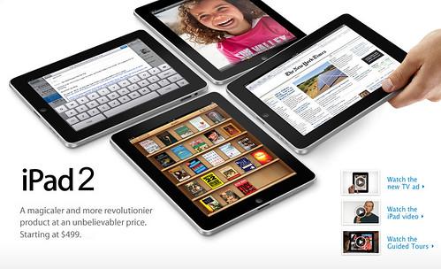 iPad 2 Tagline