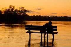 Soirée paisible (garrygates) Tags: soirée eau paisible relax sunset