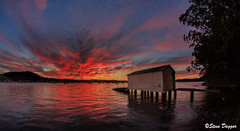 0S1A1969 (Steve Daggar) Tags: saratoga sunset gosford nswcentralcoast waterscape landscape wharf boasthed