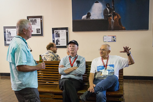 Discussion at the Oklahoma Jazz Hall Of Fame