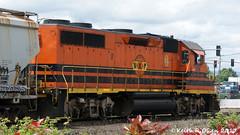 PNWR 2313 (GP39-2) (youngwarrior) Tags: train railroad locomotive emd eugene oregon gp392 pnwr portlandwestern