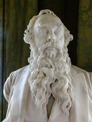 Beardy dude (tubblesnap) Tags: lotherton hall stately home history statue beard