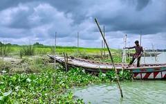 #boatman #riverside (j.asif.iqbal) Tags: boatman riverside