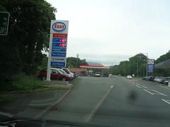 Esso - Allan Green Vehicle Sales - Penrhyndeudraeth, Gwynedd 1 (christopherbarker13) Tags: esso petrolstation garage allangreenvehiclesales penrhyndeudraeth gwynedd exxon