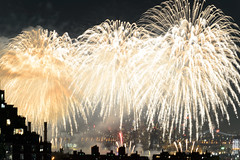 4th of July 2017 Macy's Fireworks-77 (Diacritical) Tags: brooklyn nycmacys nikond4 pattern 70200mmf28 30secatf71 july42017 85024pm f71 230mm 4thofjuly fireworks macysfireworks nyc night skyline