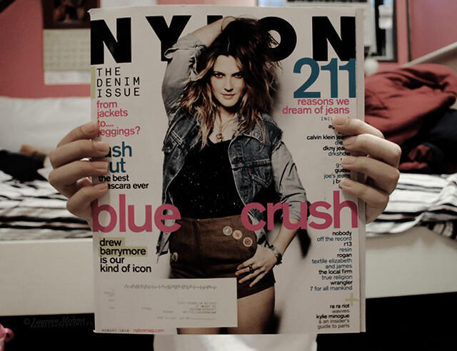 day 136: blue crush by wherelaureensmiles