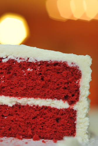 Red Velvet w/ Ermine Icing No. 3