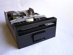 Removing floppy disk